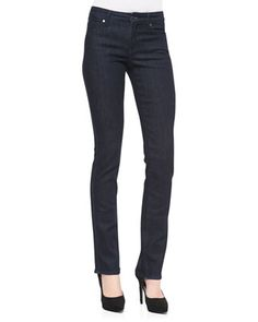 Faith Straight-Leg Jeans, Kahana by CJ by Cookie Johnson at Neiman Marcus.