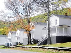 Akron Beacon Journal   Cass, WV was a company-run lumber town and workers were provided company-owned houses -- which are now available for rent.