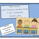 """This file contains """"I Can"""" Statements for each story in Unit 1.  The """"I Can"""" statements are aligned with the  First Grade Common Core Standards of ..."""