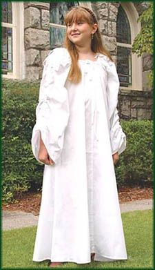 Child's Celtic Chemise: Renaissance Clothing and Medieval Costumes by Elizabethan Outfitters