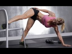 ZWOW #41 Time Challenge - Work That Booty. 3 Rounds - 10 Burpee to Chair Stand / 10 Row and Twist / 10 Prisoner Squat Jump / 10 Doggie Leg Swing Push Up