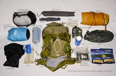 I really need to tighten things up for the overnight hikes...how to pack a backpack efficiently
