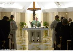 Homilía del Papa: Pecadores sí, corruptos jamás - Radio Vaticano