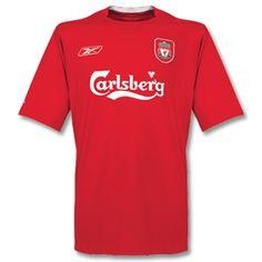 Liverpool - Home - - Reebok, Carlsberg Football Kits, Nike Football, Liverpool Fc Kit, This Is Anfield, Soccer Shirts, Shirt Price, Reebok, Mens Tops, Classic