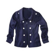 Gray Toddler Girl Pea Coat | Because Kids | Pinterest | Coats Pea
