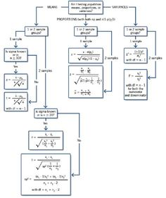 Hypothesis Testing Decision Tree