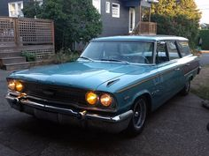 1963 Ford Country Sedan station wagon