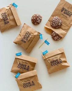 packaging + gifts- lol happy holidays have a cookie
