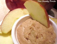 Creamy Peanut Butter Dip by The Shady Porch