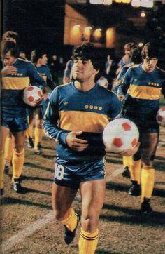 Diego en Boca