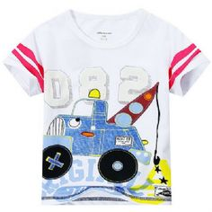Tow Truck T-shirt Summer Collection, Fasion, Spring Summer, Tow Truck, Instagram Posts, Mens Tops, T Shirt, Kids, Shopping