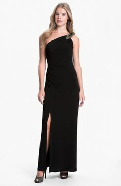 Strap One Shoulder Long Black Dress Black Prom Dresses, Formal Dresses, Long Dresses, Cheap Summer Dresses, One Shoulder Gown, One Piece Dress, Dress P, Evening Dresses, Fashion Outfits
