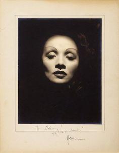 Marlene Dietrich by John Engstead, 1935.