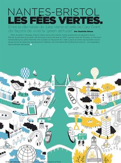 Portfolio of French Illustrator Antoine Corbineau. Antoine Specialises in illustrated maps, typography and complex infographics.