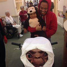 E.T. themed costume (dlishtati510's photo on Instagram)