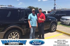 https://flic.kr/p/JW4jC1 | Happy Anniversary to Dale on your #Ford #Expedition EL from Casey Gonzales at Waxahachie Ford! | deliverymaxx.com/DealerReviews.aspx?DealerCode=E749