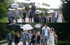 I would love to do something with umbrellas. I also love how they are just all walking, talking and having fun :)