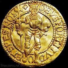 """1591 WEST FRIESLAND """"STANDING KNIGHT"""" DUTCH GOLD DUCAT! sku #DG2"""
