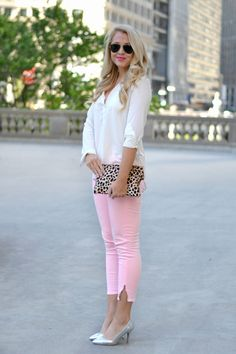 Colored Denim | bright and beautiful | Chicago Fashion + Lifestyle Blog