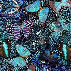 """Diana Flores Blazquez 𓆨𓆣𓆤𓆦 en Instagram: """"Trabajando en el nuevo patrón de mariposas para las máscadas del próximo año! Mediran 90x90cm para que puedas usarlas como quieras! 🌟💙💙🌟…"""""""