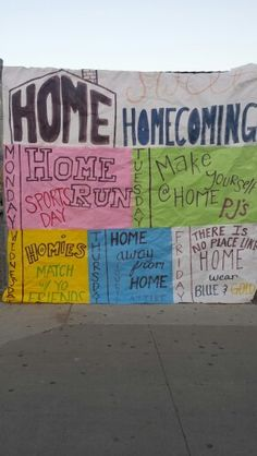 AGHS Home Sweet Homecoming