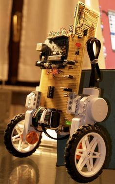 Arduino powered self balancing segway-like robot