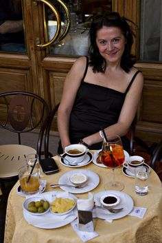 Florence Breakfast by shaltrin, via Flickr