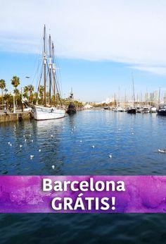 Dicas de passeios e atrações gratuitas em Barcelona, para te ajudar a economizar na viagem!