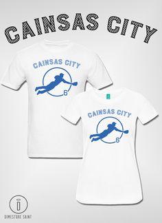 Cainsas CIty Lorenzo Cain KC Royals by DimestoreSaintDesign
