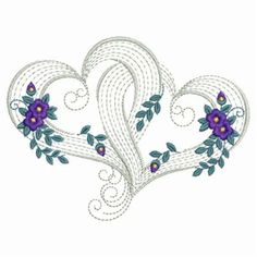 Wonderful Ribbon Embroidery Flowers by Hand Ideas. Enchanting Ribbon Embroidery Flowers by Hand Ideas. Embroidery Hearts, Learn Embroidery, Silk Ribbon Embroidery, Embroidery Applique, Embroidery Stitches, Flower Embroidery, Needlepoint Stitches, Hand Embroidery Tutorial, Free Machine Embroidery Designs