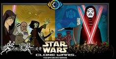 Top 10 Examples of Star Wars On TV - Clone Wars (2003) star-wars-clone-wars Star Wars is somehow always better when the people doing it have no idea what is coming up next in the series. Genndy Tartakovsky blended anime influence with short subjects, to take Star Wars into great new directions. The 2003 Cartoon Network Clone Wars series not only influenced the later series, but also possibly the later movies as well. Read more: http://www.toptenz.net/top-10-examples-of-star-wars-on-tv.php