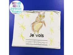 Primary French Immersion - fall activities to build vocabulary!