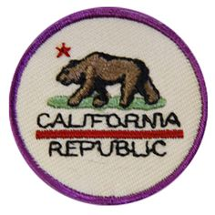 GSSD CALIFORNIA PATCH FOR GIRL SCOUT JUNIORS