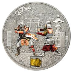 2015 Cook Islands 5 Dollar Proof Silver Coin History of the Samurai with COA&Box Numismatic Coins, Silver Coins For Sale, Coin Art, Samurai Armor, Proof Coins, Cook Islands, How To Get Rich, Coin Collecting, Decorative Plates