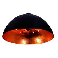 Lampa sufitowa plafon MAGMA Azzardo MDS 1004-XL black/gold