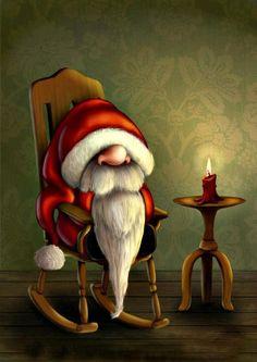 Comical Santa