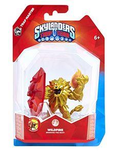 Skylanders, Wii U, Nintendo Wii, Best Christmas Toys, Fire Element, Wild Fire, Bring The Heat, Buy Toys, Trap