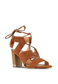 c1dc08b7950c Tie Up Block Heel Sandals River Island Rp 1.059.900