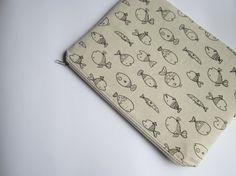 Fishes MacBook 13 sleeve with zipper MacBook Air by StudioSleeve, $24.00