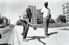 Photography by Marc PoKempner, from Changing Chicago (1987-1992)