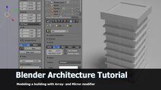 Blender Architecture Tutorial: High Building