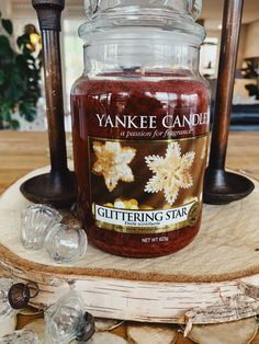 Glitter Stars, Fragrance, Candles, Pure Products, Bottle, Flask, Perfume, Pillar Candles, Lights