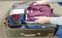 Cómo hacer la maleta para que no se arrugue la ropa