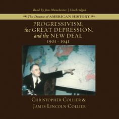 Progressivism, the Great Depression, and the New Deal, a #Historical #Book by Christopher Collier, can now be sampled in audio here...