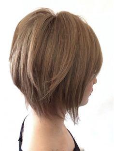 ブリーチonカラーで作る☆シャイニープラチナアッシュ☆ Layered Haircuts, Short Bob Hairstyles, Japanese Short Hair, Short Hair Cuts, Short Hair Styles, Hair Skin Nails, Pastel Hair, Hair Pictures, Hair Art