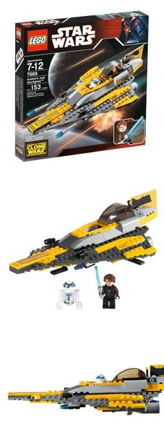 LEGO Star Wars Anakin's Jedi Starfighter, Blasting out of the new Clone Wars TV series, it's Anakin Skywalker's customized Jedi starfighter!, #Toys, #Building Sets