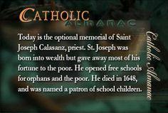 #SaintJosephCalasanz #prayforus