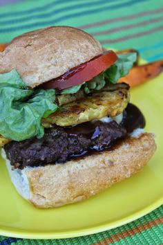 Happy Labor Day! Teriyaki Hamburgers--perfect for your BBQ's today by Deals to Meals