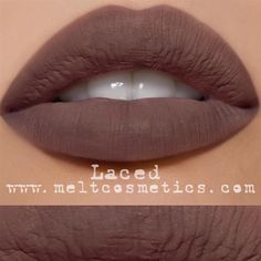 LACED by Melt Cosmetics by @trendmood1 I The latest from @meltcosmetics looks gorgeous!!   #pampadour #makeup #beauty #LACED #lotd #Swatches #lips  #TheNoodCollection