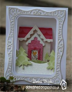 Old Red Shed: Karen Burniston September Design Challenge...